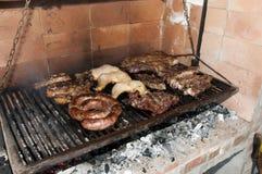 从阿根廷的烤肉肉 库存图片