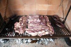 从阿根廷的烤肉 库存照片
