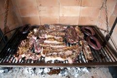 从阿根廷的烤肉 免版税图库摄影