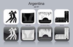 阿根廷的象 皇族释放例证