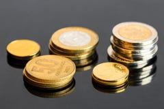 阿根廷硬币 免版税库存照片