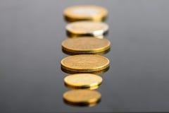 阿根廷硬币 免版税库存图片