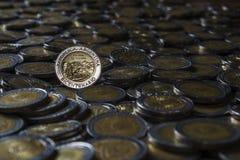 阿根廷硬币 库存图片