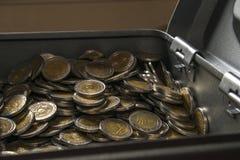 阿根廷硬币 免版税图库摄影