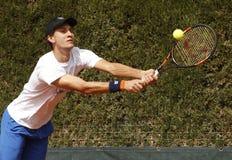 阿根廷网球员伦佐Olivo 免版税库存照片