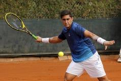 阿根廷网球员Facundo阿尔圭洛 免版税库存图片