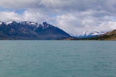 阿根廷argentino calafate el湖 免版税库存图片