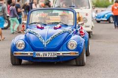 阿格德,法国- 2017年9月9日:蓝色 免版税图库摄影