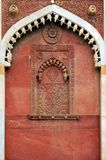 阿格拉印度mahal清真寺taj 库存照片