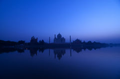 阿格拉印度mahal taj 库存图片
