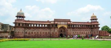 阿格拉堡在阿格拉,印度 免版税库存图片
