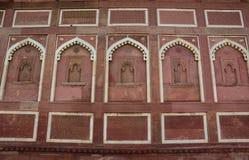 阿格拉堡在阿格拉,印度 库存照片