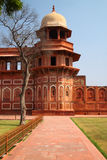 阿格拉堡垒印度红色 免版税库存图片