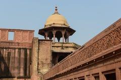 阿格拉堡垒在印度 免版税库存照片