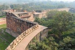 阿格拉堡垒在印度 免版税图库摄影