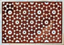 阿格拉详细资料印度mahal清真寺taj 库存图片