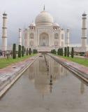 阿格拉,印度。Taj Majal视图。 库存图片