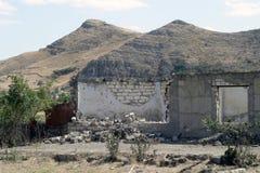 阿格达姆,纳格尔诺-卡扎巴赫废墟  免版税库存图片
