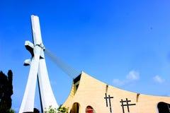 阿比将大教堂,圣徒位置圣保罗  免版税库存图片