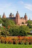 阿沙芬堡城堡德国johannisburg 免版税图库摄影