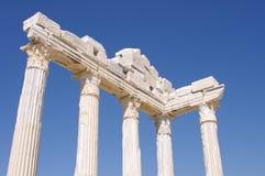 阿波罗副寺庙 库存图片