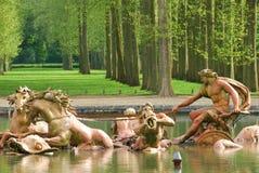 阿波罗喷泉宫殿凡尔赛 免版税图库摄影