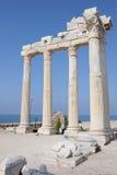 阿波罗寺庙在土耳其 库存照片