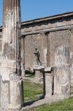 阿波罗寺庙,庞贝城,意大利废墟  图库摄影