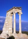 阿波罗寺庙 库存图片