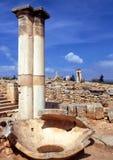 阿波罗教堂, Kourion 免版税库存图片