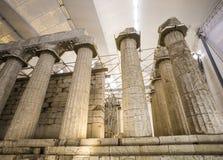 阿波罗教堂Epicurius, Argolida,希腊 库存照片