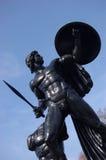 阿波罗海德公园雕象 库存照片