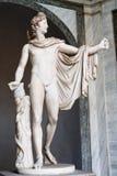 阿波罗雕象 免版税库存照片