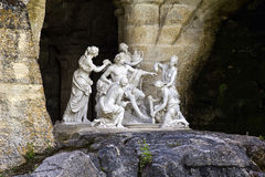 阿波罗,凡尔赛喷泉巴恩  免版税库存照片