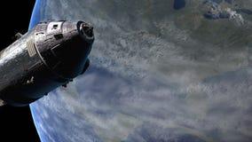 阿波罗11人造卫星 库存例证