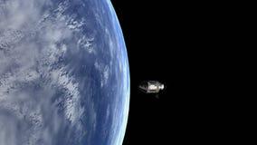 阿波罗11人造卫星 皇族释放例证