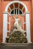 阿波罗Citaredo雕象在罗马,意大利 免版税库存图片