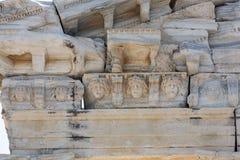 2阿波罗s寺庙 在边的古老废墟 库存图片
