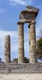 2阿波罗s寺庙 免版税库存图片