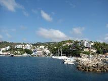 阿洛尼索斯岛-希腊海岛在爱琴海 库存图片