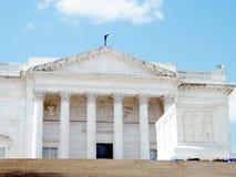 阿灵顿公墓无名英雄墓和Amphitheate 库存照片