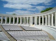 阿灵顿公墓纪念圆形露天剧场2010年 库存照片