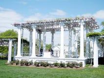 阿灵顿公墓老纪念圆形露天剧场2010年 图库摄影