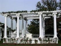 阿灵顿公墓老纪念圆形露天剧场2004年 库存照片