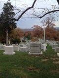 阿灵顿公墓 免版税库存图片