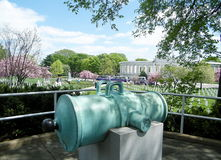 阿灵顿公墓USS纪念圆形剧场2010年 库存照片