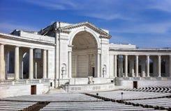 阿灵顿国家公墓纪念品圆形剧场 库存照片