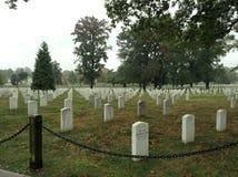 阿灵顿国家公墓,弗吉尼亚 图库摄影