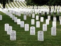 阿灵顿国家公墓 免版税图库摄影