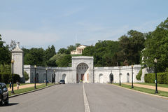 阿灵顿国家公墓 库存照片